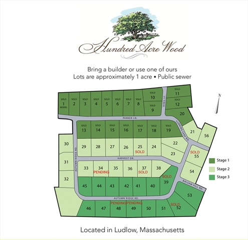 Lot 27 Harvest Drive Ludlow MA 01056