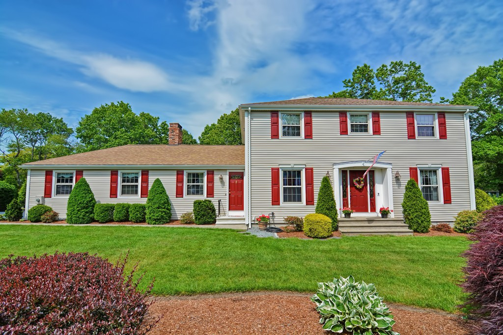 If you have been waiting for a meticulously maintained expansive Colonial in an exceptional neighborhood to hit the market this is it! Everything about this entire property is extraordinary.The setting is a large, level parcel on a beautiful street with professional/mature landscaping and fenced/heated inground Gunite pool with swim up bench,patio surround and changing cabana.Enjoy views of your pool and private yard from the heated sunroom! The sprawling first floor offers many rooms.Gorgeous cathedral and beamed ceiling great room with fireplace is open to the large kitchen with stainless appliances and Corian counters. Front to back formal dining, office and living room all featuring hardwood flooring.Master suite with bath & WIC. Recently updated baths and a partially finished lower level with game and sports rooms! Young roof,windows and heating system. Multi Zone irrigation,1st Floor Laundry,Alarm,Central Air, Tall 20x21 garage with loft storage.This home is an absolute must see!