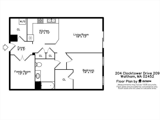 204 Clocktower Drive Waltham MA 02452