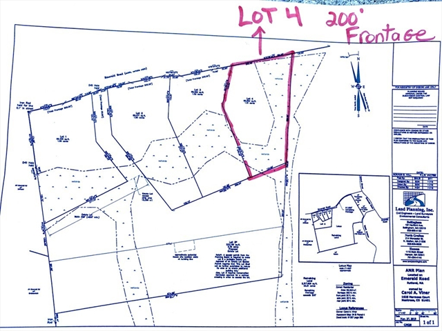 Lot 4 Emerald Rutland MA 01543