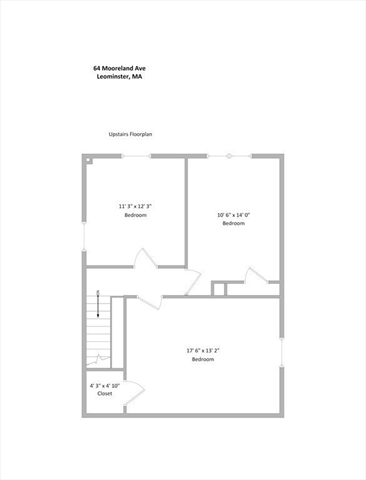 64 Mooreland Avenue Leominster MA 01453