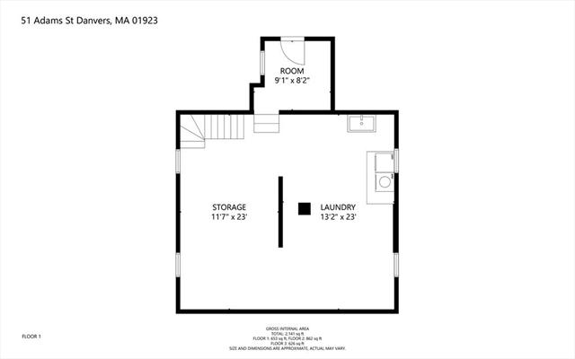 51 Adams Street Danvers MA 01923