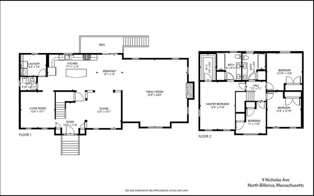 9 Nicholas Avenue Billerica MA 01862