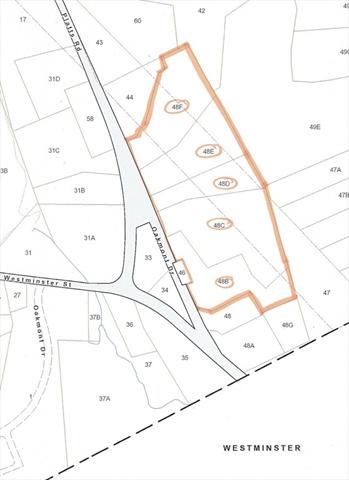 Lot48B-F Platts Road Ashburnham MA 01430
