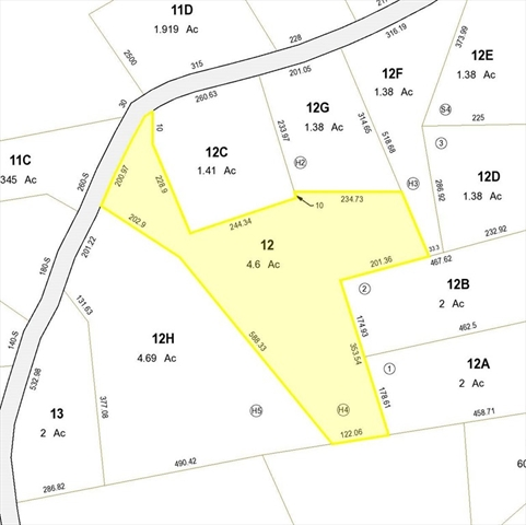 Lot H-4 Hastings Road Ashburnham MA 01430