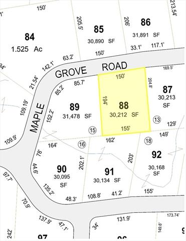 Maple Grove Road Hampden MA 01036