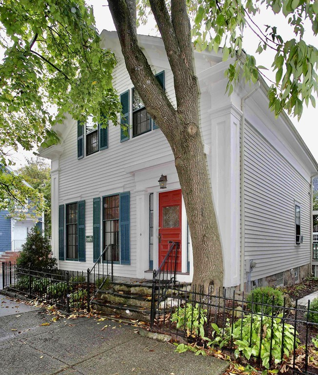 Magnificent one of a kind home in the heart of New Bedford! Enjoy old world charm with modern amenities in this beautifully restored 1856 Greek Revival! Notice the fine craftsmanship throughout.Gorgeous eat-in kitchen w/ island & handsome gas fireplace.Sunny & spacious formal dining room leads to living room w/ floor to ceiling windows. Kitchen opens to the patio & leads to your private fenced in back yard oasis,the perfect spot for gardening or just dining on the patio.You are within a 5 minute walk to downtown NB, with all its restaurants,shops,museums,ferry terminal & soon to be commuter rail station. Getting back inside,you can't help but be amazed at this home with artful features at every turn. Half bath & sitting room or 3rd bedroom complete the 1st floor.Walk up the sweeping staircase to find a stunning family room w/ cathedral ceilings, 2 bedrooms including a master w/2 closets & an awesome bathroom w/ soaking tub,shower & wide plank floors! Updated gas furnace & electric too!