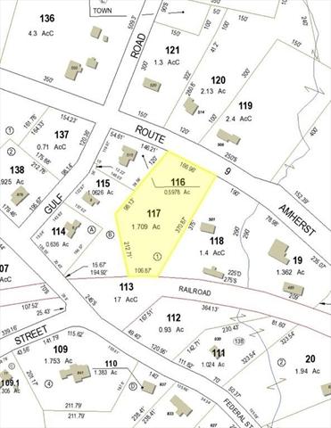 lot 0 Amherst Street Belchertown MA 01007