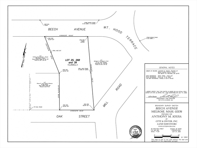 Beech Avenue Melrose MA 02176