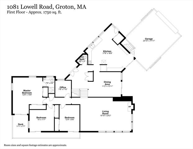 1081 Lowell Road Groton MA 01450