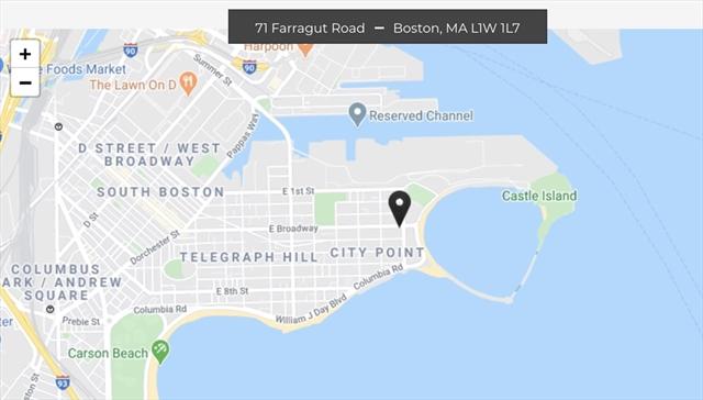 71 Farragut Road Boston MA 02127