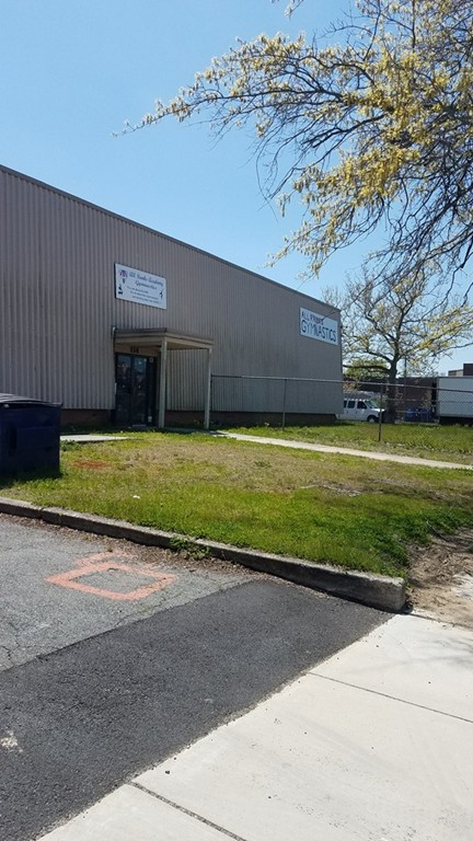 High visibility location for lease on Route 18 New Bedford. Property abuts New Bedford's Designated Port Area, but does not have the requirement to be marine/industrial. usage. Most recently has housed a gym and a tool distributorship, high ceilings.   Space is 11,279 sf,   Easy to show.