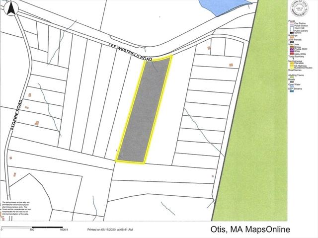 Lot 40 North Blandford Road Otis MA 01253