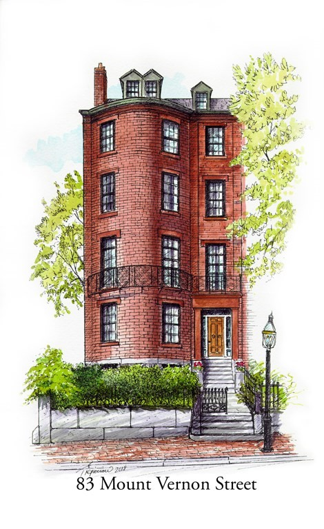 Photo of 83 Mount Vernon St Boston MA 02108