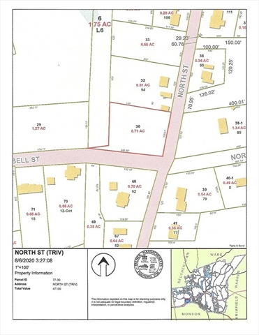 Lot 30 North Street Palmer MA 01069