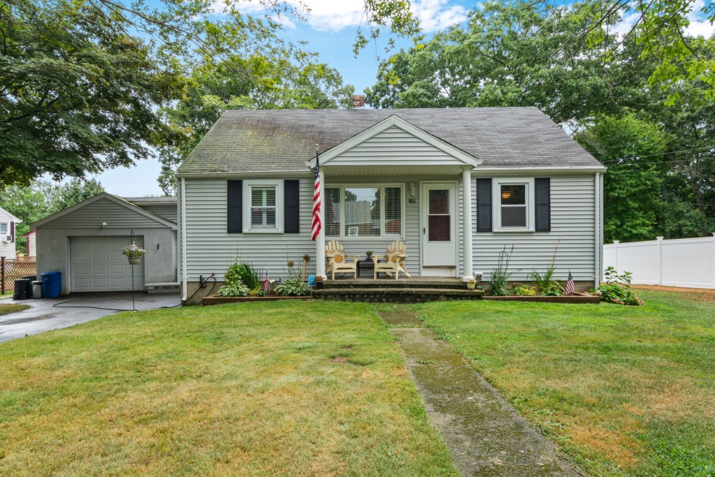 BEAUTIFULLY REDONE RANCH SET BACK ON FISH RD.  ORIGINALLY A 2-BED, CAN BE REVERTED BACK EASILY.  HARDWOODS, MOLDINGS, COLUMNS, UPDATES IN ALL ROOMS, VIKING APPLIANCES, SPACIOUS, PRIVATE BACK YARD, WITH NEWER SEPTIC SYSTEM