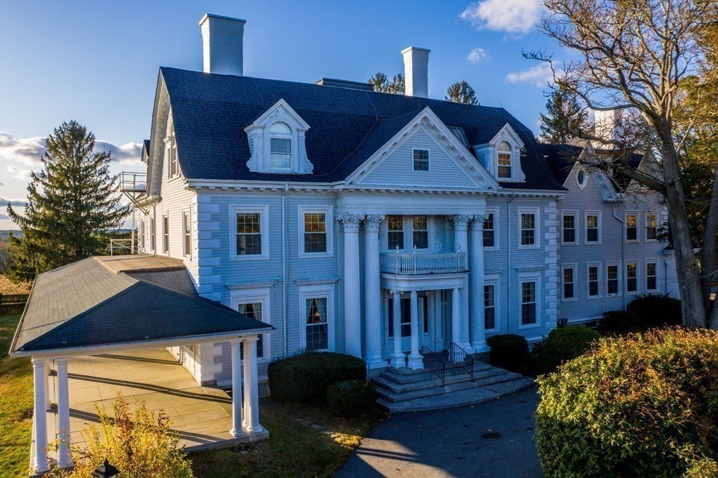 Wonderful opportunity to purchase this stunning example of early 1900's Gregorian revival Architecture.This unique Property consists of over 12,255 Square feet of living space, amazing unmatched details throughout this home Situated on 4.5 acres complete with Elevator, Back up Generator, Newer Windows, New roof and town water and sewer. This home served as communal retirement home for many years lots of possibilities with this unique layout.
