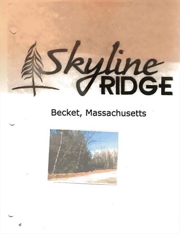 Lot 4 Skyline Ridge Becket MA 01223
