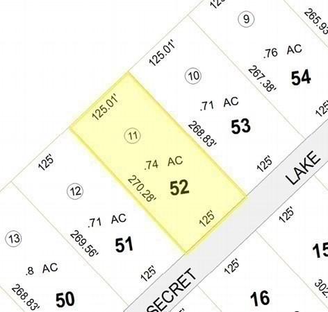 Lot 52 Secret Lake Road Phillipston MA 01331