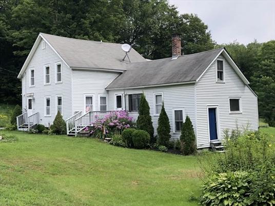 131 Zoar Rd, Rowe, MA<br>$245,000.00<br>4.8 Acres, 4 Bedrooms