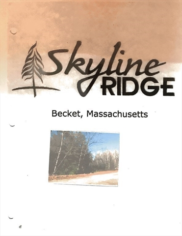 Lot 4 Skyline Ridge Road Becket MA 01223