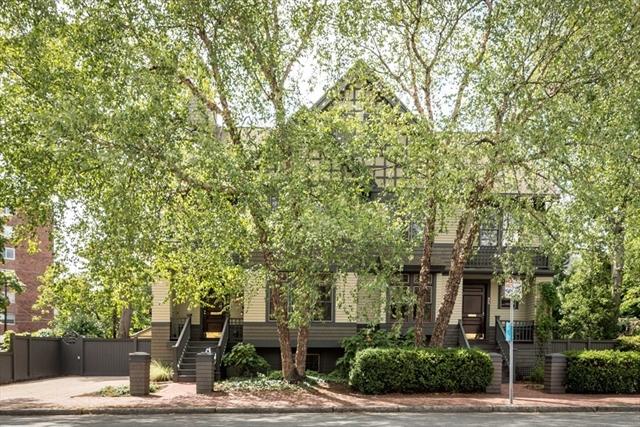 36 Garden Street Cambridge MA 02138