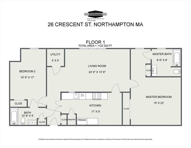 26 Crescent Street Northampton MA 01060