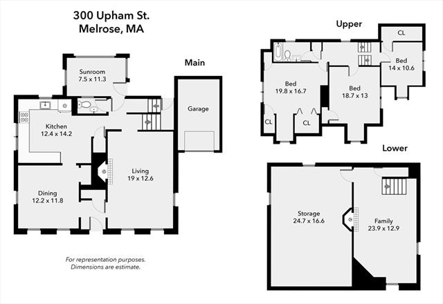 300 Upham Street Melrose MA 02176