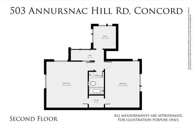 503 Annursnac Hill Road Concord MA 01742