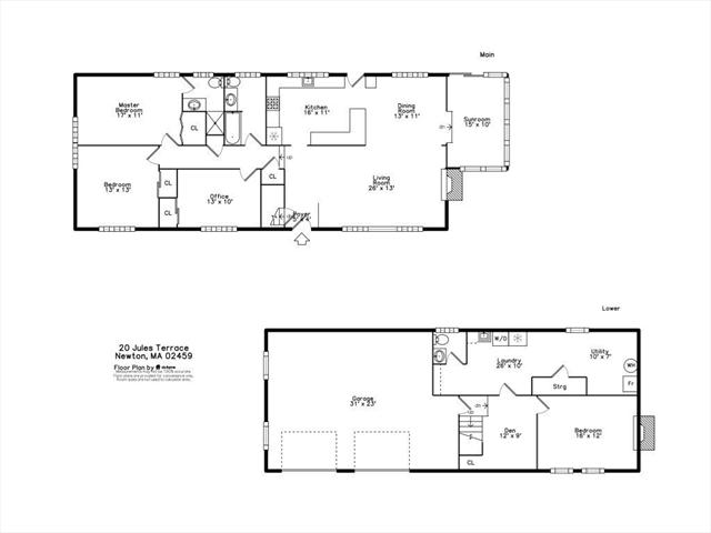 20 Jules Terrace Newton MA 02459