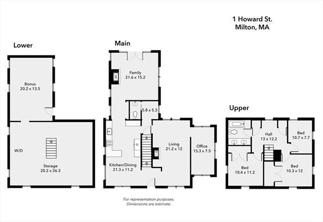 1 Howard Street Milton MA 02186