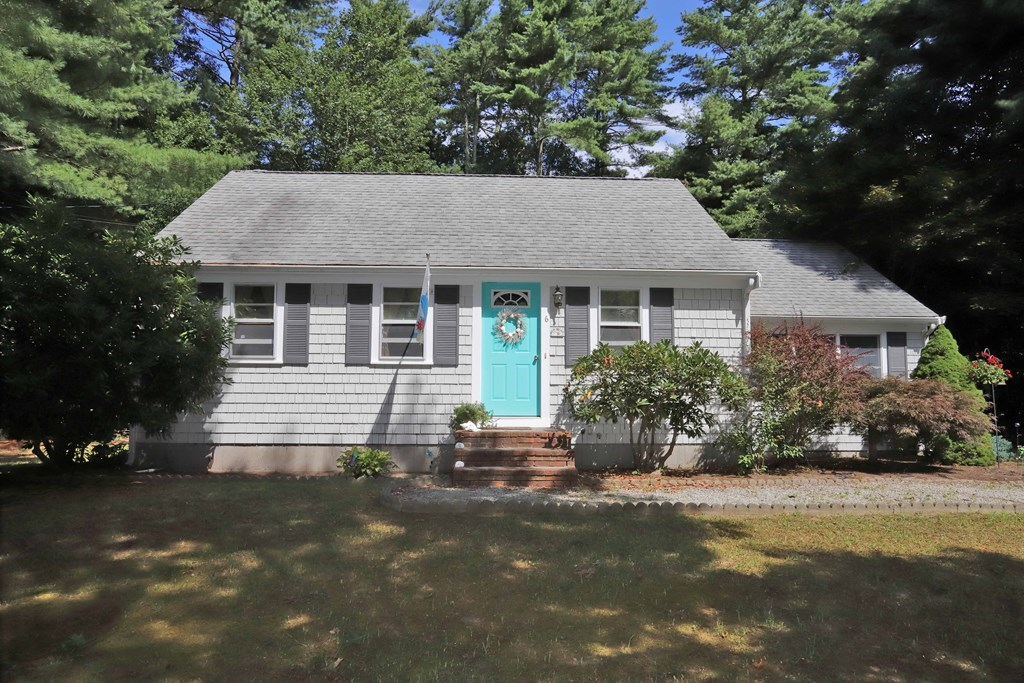 Location! Location! Comfortable,light filled & well maintained Cape Style home just north of Mattapoisett village This 2 bedroom ,2 bath expansion Cape is located on a wonderful tree lined street off North Street. You will love the peaceful ,scenic and spacious backyard for relaxing or entertaining family and friends. There is also very large garden shed too!  Inside you will find a spacious living room with hardwood flooring that opens to a formal dining room. There is a master bedroom with attached bathroom, walk-in closet  and one other bedroom with hardwood flooring. Being an expansion cape there is room to add a family room to the upper level . Exterior front has maintenance free Cedar Impressions vinyl shingles. Large unfinished basement . Owner is in process of installing in brand new 2 bedroom septic system ! Scheduled Showings Saturday October 10th 12-1 Please call for your time!!