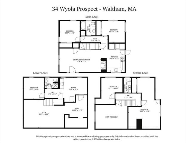 34 Wyola PROSPECT Waltham MA 02451