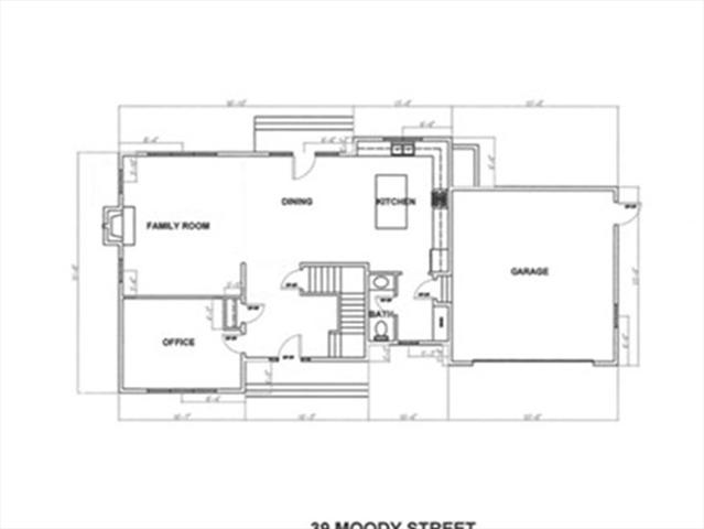 Lot 2 Moody Street Newton MA 02467