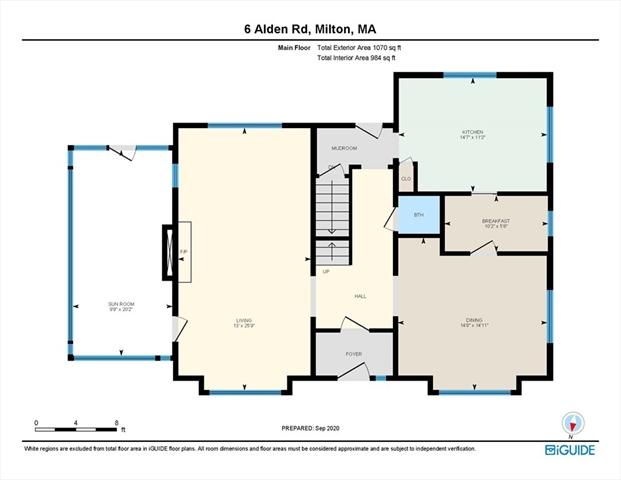 6 Alden Road Milton MA 02186