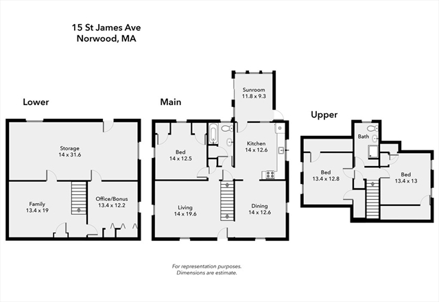 15 St. James Avenue Norwood MA 02062