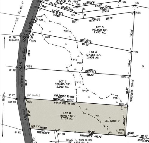 112 Lot 8 Cold Hill Road Granby MA 01033