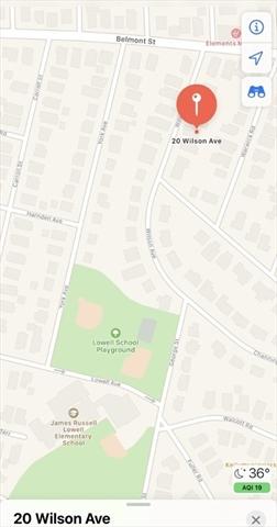20 Wilson Avenue Watertown MA 02472