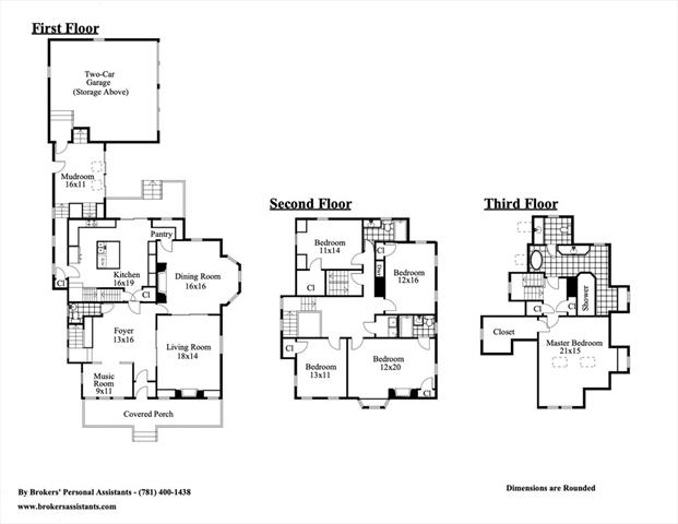 950 Centre St (driveway on BALLARD Newton MA 02459
