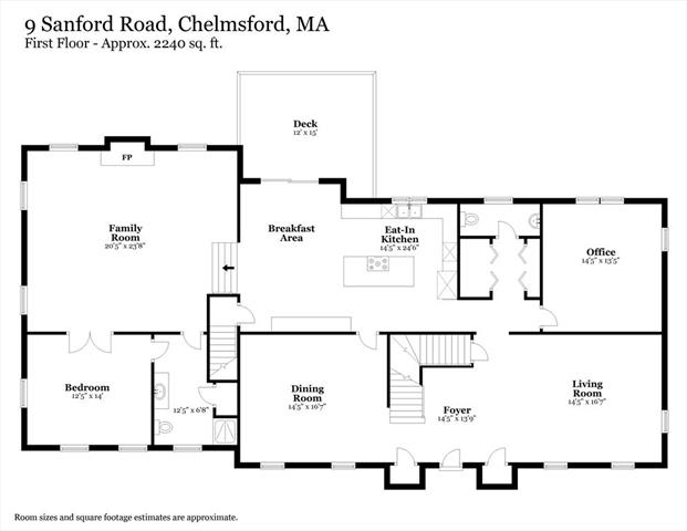 9 Sanford Road Chelmsford MA 01824