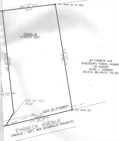 lot 2 Fyrbeck Avenue Shrewsbury MA 01545