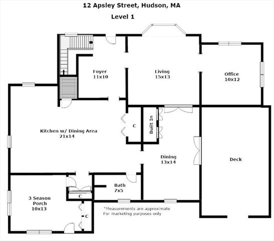 12 Apsley Street Hudson MA 01749