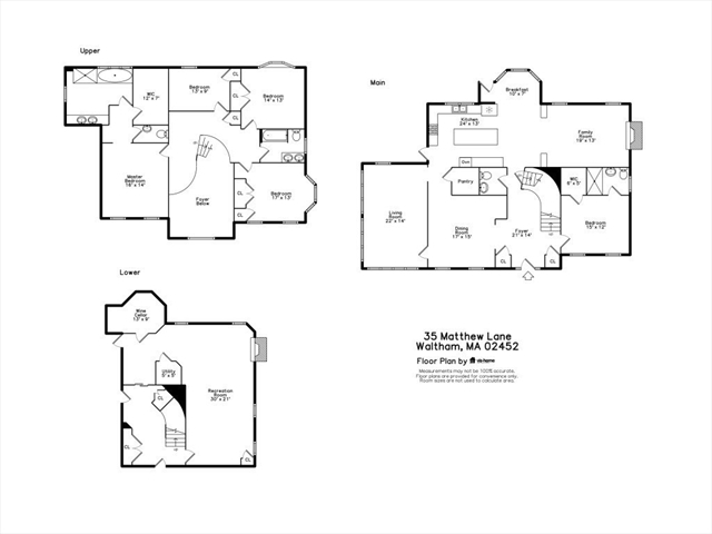 35 MATTHEW Lane Waltham MA 02452