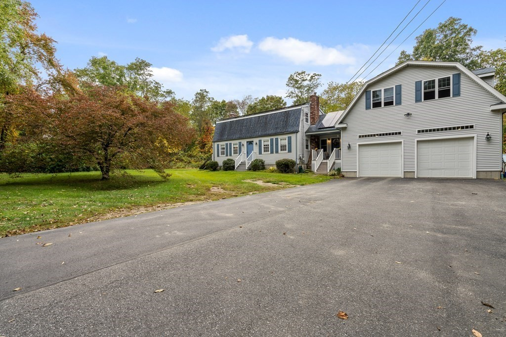 *Highest and Best Due by Sunday 10AM* Rehoboth's Newest Listing! Well Maintained Gambrel Style Cape, Situated on 2.6 Acres in Prime Rehoboth Location Offering Both Privacy and Convenience to Nearby Amenities. Features Include Large Kitchen, Front to Back Family Room, Dining Room, 1/2 Bath, and Laundry on First Floor. Second Floor Has 3 Well Sized Beds and Full Bath. Home Boasts an  Additional 800+ Square Feet of Living Area With Full Bath Over Garage Offering Endless Possibilities; Would Make Ideal Office/Study, Master, or Private Suite. Car Enthusiasts Take Note!  Oversized and Heated Garage is Fully Insulated and Can Potentially Accommodate a Lift. Enjoy Low Maintenance Utilities with Young Roof,  Owned Solar Panels, Brand New Oil Tank, Central Air and Mini Splits. Open Saturday by Appointment Only.