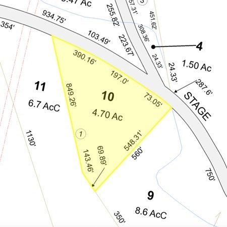 Lot 10 Russell Stage Road Blandford MA 01008