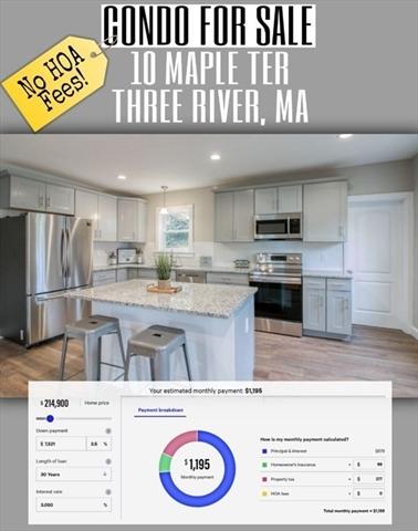 10 Maple Terrace Palmer MA 01080