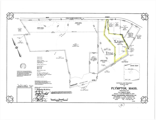 Lot B West Street Plympton MA 02367