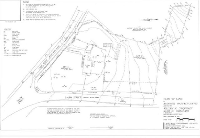 Salem St Lot 2 plan 3Gray Road Andover MA 01810