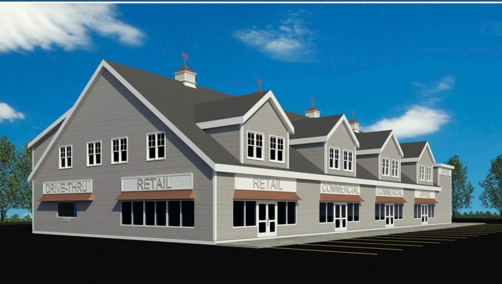 New Build-Retail & Office Space Available. Great for all retail uses. Health & Wellness, Restaurant, Gym, etc.  Multiple Sizes +/- 850 SF-7645 SF  Build to Suit-Open Plans-10' Ceilings  Drive-thru units still available  Plenty of Parking  Great Location...Rte.495 & 18 Interchange