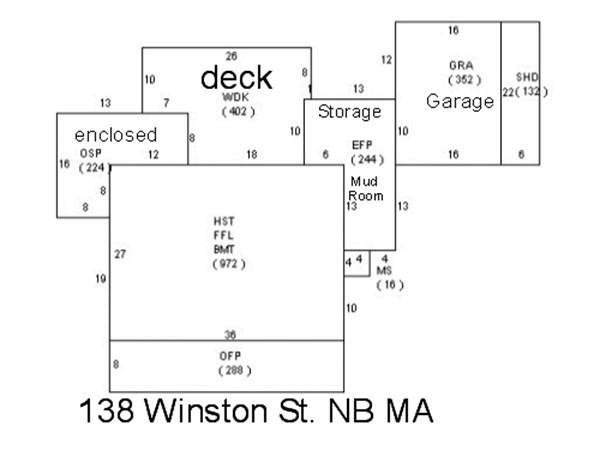 138 Winston Street New Bedford MA 02745